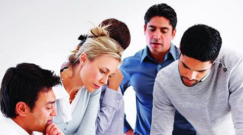 Cours exécutif en groupes